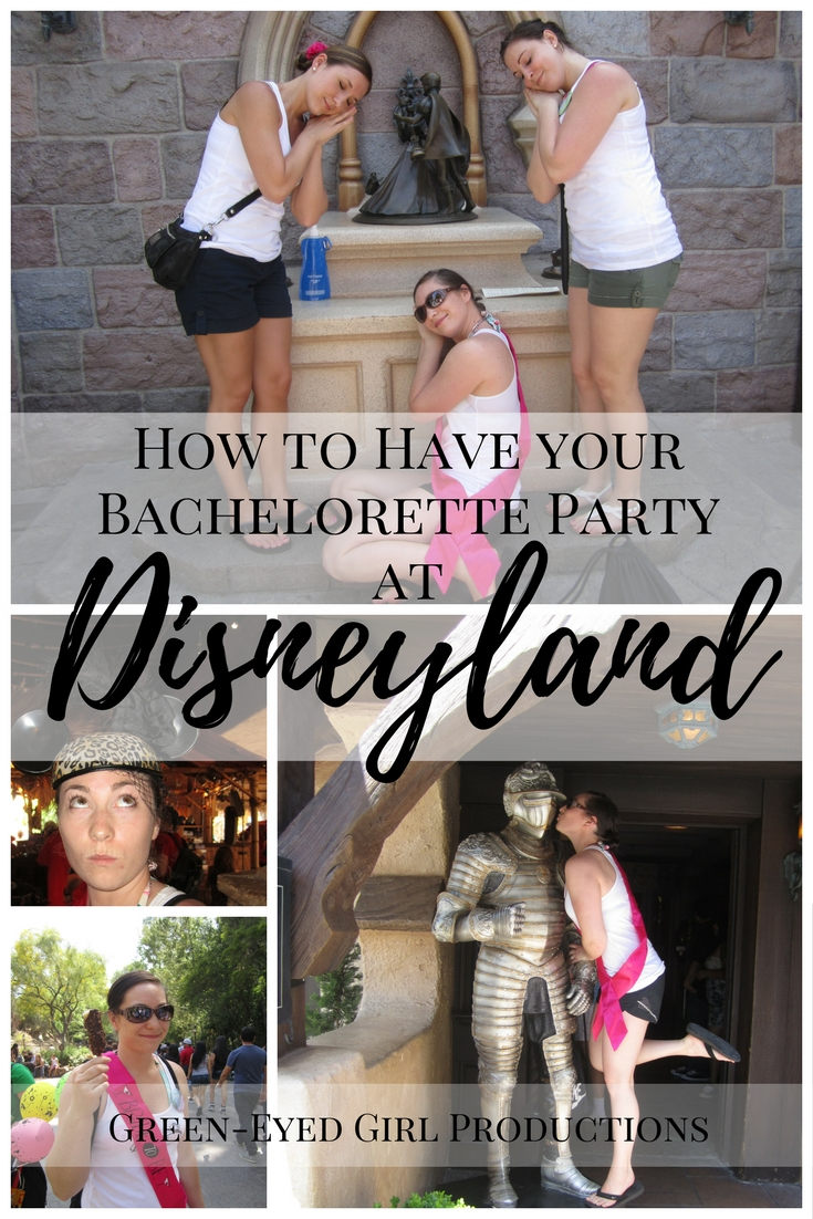 How to have a Bachelorette Party at Disneyland. Bachelorette Party Ideas. The Happiest Place on Earth. Disneyland Trip Advice. Wedding Planning. Bride to Be at Disneyland. Disneyland for Brides.