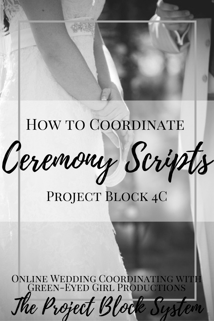 How To Write Wedding Ceremony Scripts Basic Structure Green Eyed Girl Productions