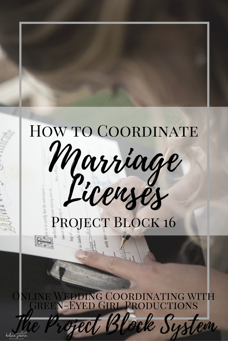 How to Coordinate Marriage Licenses. When do you sign the Marriage Certificate. Wedding Planning DIY Bride. How to Guide.Wedding Coordinating. Marriage License.