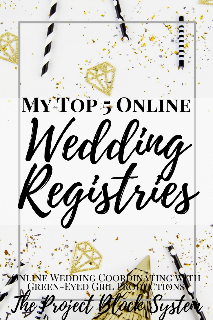My top 5 online wedding registries where to register for Popular wedding registry locations