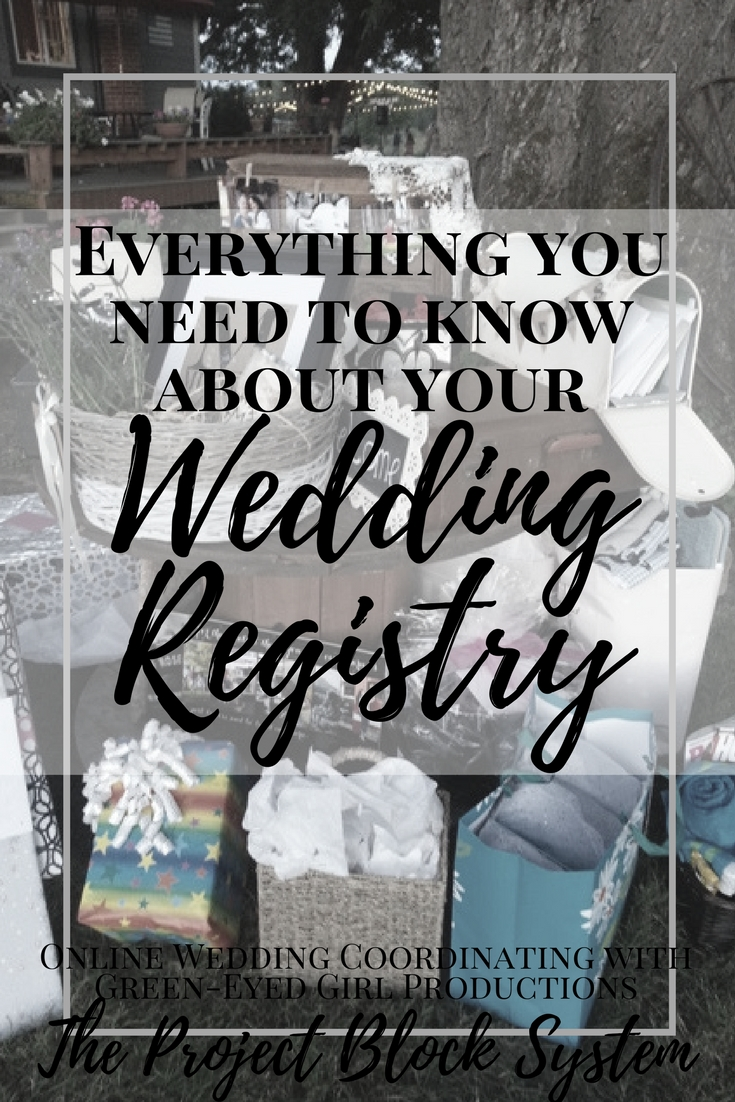 Everything you need to know about your Wedding Registry. How to Register for Wedding Gifts. Wedding Registries. How to start a Wedding Registry. What to know about wedding registries.