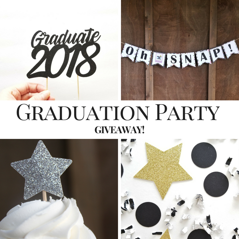 Graduation Party Giveaway!