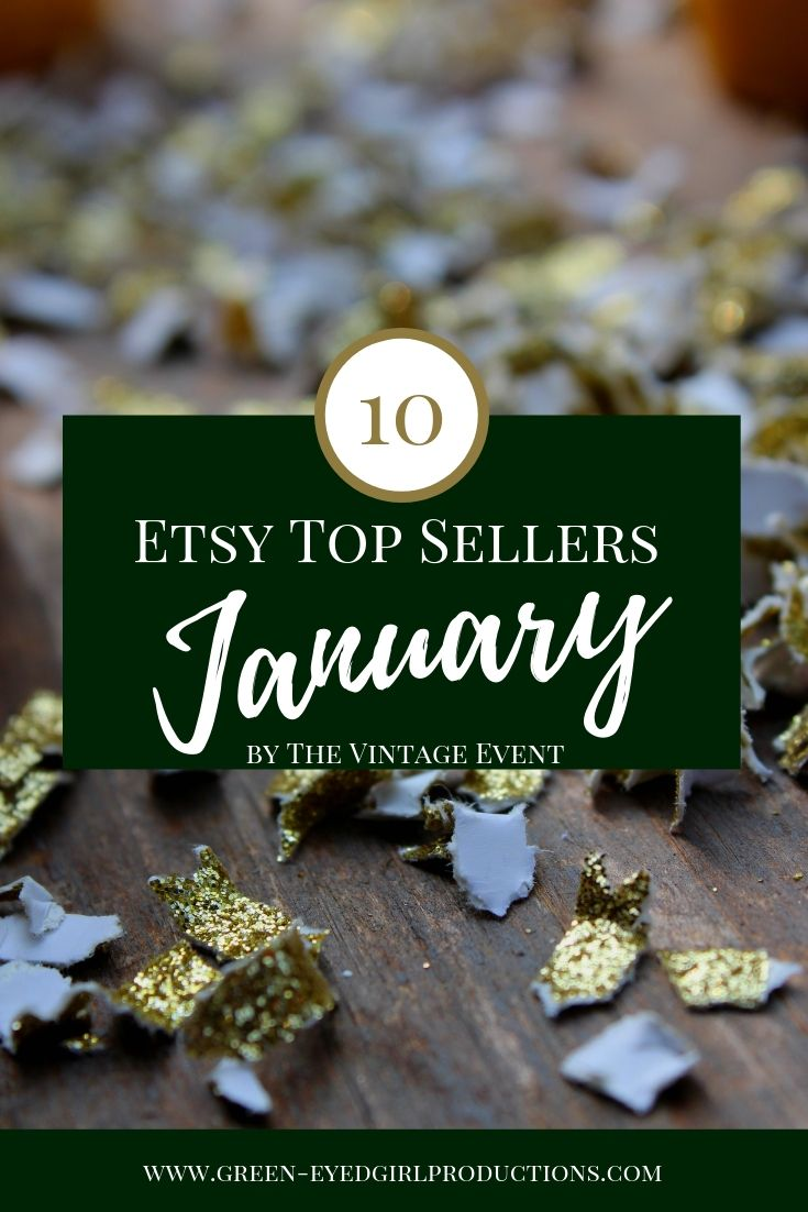 See what people are buying for their Weddings in January. Our January Etsy Top Sellers list will clue you in on what Brides are Buying for their Wedding this time of year. Our Top Seller was Toss Me Confetti Packets for a Wedding Exit Toss.
