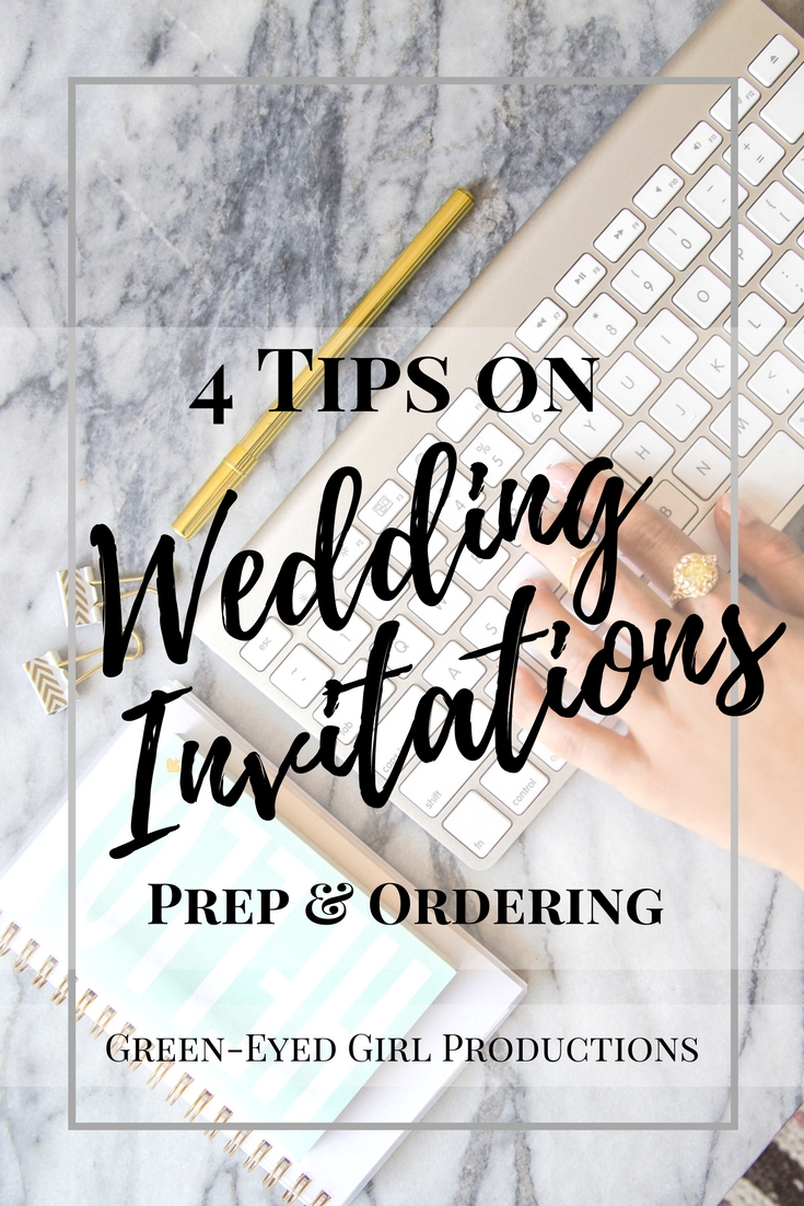 4 Tips on Wedding Invitations. How to coordinate your Wedding Invitations. How to address your Wedding Invitations