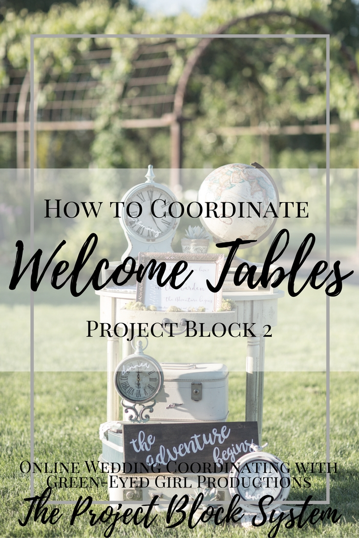 How to Coordinate your Wedding Welcome Table, Wedding Welcome Table Ideas, What goes on a Welcome Table. Wedding Planning How To Planning a Wedding