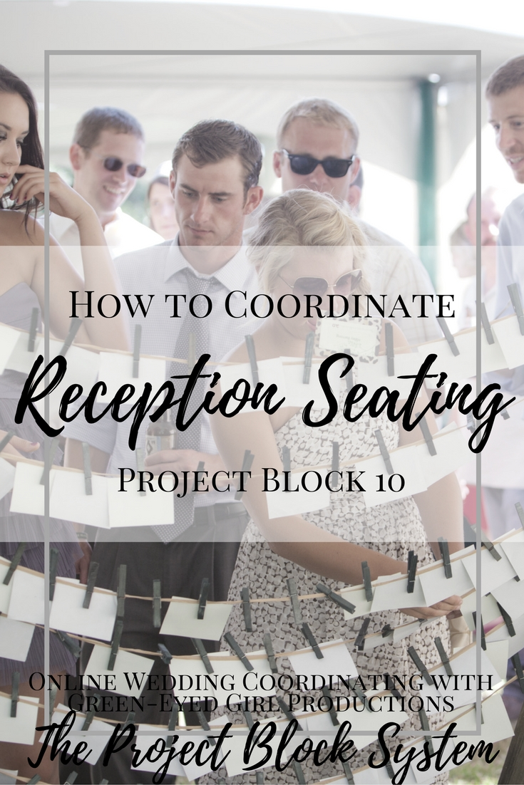 How to Coordinate Wedding Reception Seating. Wedding Planning Advice, How To Guide.